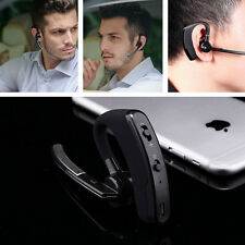 Car Wireless Handsfree Non Radiative Bluetooth Stereo Headset MP3 Play Earphone