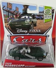 CARS 2 - DAVID HOBBSCAPP HEADSET - Mattel Disney Pixar