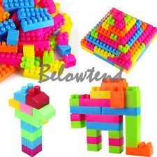 80Pcs Children Kid Educational Building Blocks Bricks Toy Animal Plastic Gift
