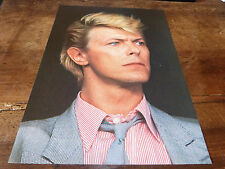 DAVID BOWIE - Mini poster couleurs 2 !!!!!!!!!!!!!