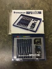 Staedtler Mars Marsmatic 700-S-7 Technical Pen Set (7 Pens and a Bottle of Ink)