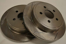 Dodge Neon SRT/4 04 05  Sloted Rotors Rear Pair
