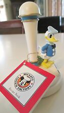 MICKEY'S COOKIE FACTORY STAMP DONALD DUCK WITH RECIPE BOOK WALT DISNEY VINTAGE