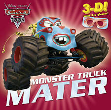 Monster Truck Mater (Disney/Pixar Cars) (3-D Pictureback)-ExLibrary