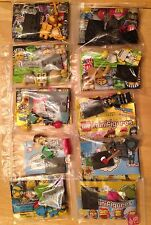 Lego Minifigures Series 12/13/14/The Simpsons Series 1/2 Lot 10 Minifigures New