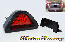 F1 RED 12 LED Tail Stop Brake Light Red Len Flashing Safety lamp Fog K