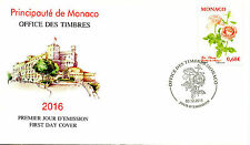 Monaco 2015 FDC Princess Charlene of Monaco Rose 1v Cover Roses Flowers Stamps