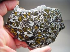 MUSEUM QUALITY! LARGE GORGEOUS CRYSTALS! STABLE! AMAZING ADMIRE METEORITE 188 GM