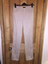 """Armani Jeans Beige tipo chino de pierna recta de algodón Pantalones Talla W30 """"para"""" * K2"""