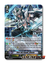 Cardfight Vanguard  x 1 Blue Sky Knight, Altmile - G-TD11/003EN - SP (Gold Foil/