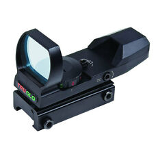 TruGlo Dual-Color Open Red Dot Rifle Sight Red & Green 5 MOA Dot Reticle TG8370B