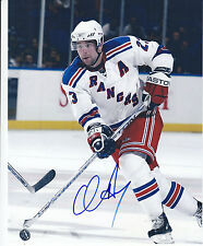 Chris Drury Autograph New York Rangers Photo Avalanche