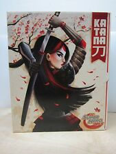 2016 SDCC MATTEL COMIC CON EXCLUSIVE DC SUPER HERO GIRLS KATANA NEW IN BOX