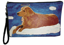 Dog Angel Pouch with detachable strap - From my orginal Painting, Ginger