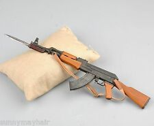 1/6 Scale AK47 Weapon Model Toy Assault Rifle Gun Simulation Model
