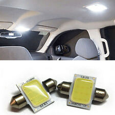2PCS White 31mm 12-COB-LED Bulbs Car Interior Dome Map Lights DE3175 DE3022 12v