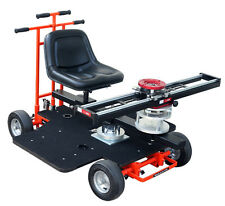 Proaim Quad Super Dolly + Flyking Slider + Rotating Seat-Unit (Turret) + Chair