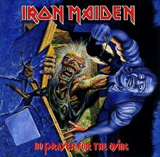 Iron Maiden - No Prayer For The Dying Vinyl LP Heavy Metal Sticker or Magnet