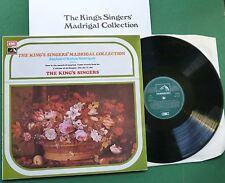The King's Singers Madrigal Collection English & Italian Madrigals CSD 3756 LP