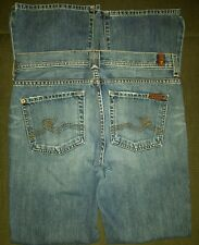 7 Seven For All Mankind Low Rise Women's Jeans Size 29 Boot Cut