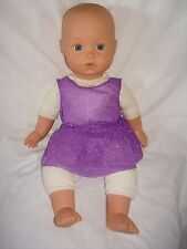 "Handmade Lycra Leotard and skirt  ideal for a 18"" doll or build a bear"