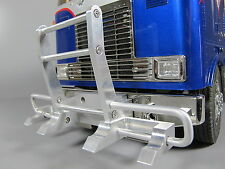Front Aluminum Bumper Guard for Tamiya RC 1/14 Semi Globe Liner Tractor Truck
