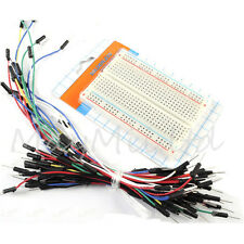 Prototype board Electronic deck + 65pcs Breadboard tie line Wire cable YQ