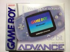 Gameboy Advance Wide COLOR Screen Glacier 32 Bit AGB-001 Complete In Box Works