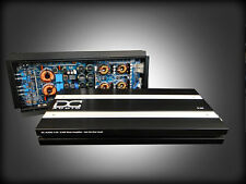 DC AUDIO 3.5k 1 Channel Mono Amplifier 3500 Watts RMS Output w/ Bass Knob