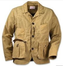 FILSON Guide Work Jacket Coat Tan Waxed Small NEW $440