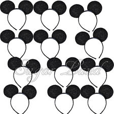8 Mickey Mouse Headbands Shiny Ears Birthday Party Minnie Favors Ears Kids Gifts