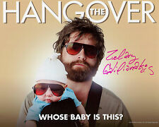 Zach Galifianakis - Alan - The Hangover - Signed Autograph REPRINT