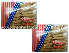 2 Boxes of 4 oz.100% Genuine Wisconsin American Ginseng Root Long Small (#G2)