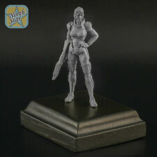 54mm FemShep Commander Shepard Female Mass Effect resin figure - RARE