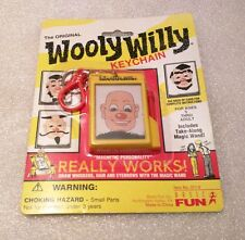 WOOLY WILLY Basic Fun Real Mini Game Box Board Keychain Keyring NEW