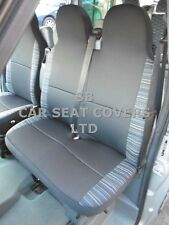 TO FIT A TOYOTA HIACE VAN, SEAT COVERS, DIESEL, ANTHRACITE + LASER TRIM