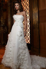 Casablanca Wedding Dress 1997 Size 2 Ivory NWT