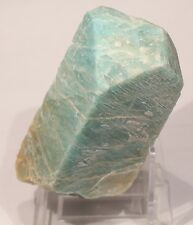 LARGE BAVENO TWINNED AMAZONITE CRYSTAL: CRYSTAL PEAK, TELLER CO. COLORADO- RARE!