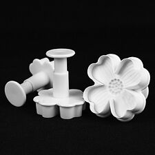 Cake Decorating Cookie Sugarcraft Plunger Cutter Fondant Mold Tools XMAS