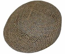 Twisted Seagrass Ivy Cap Straw Hat-XLarge