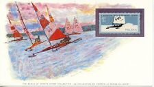 WORLD OF SPORT / MONDE DU SPORT / LE YACHTING SUR GLACE / ICEBOAT RACING POLOGNE