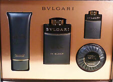 Bulgari/BVLGARI MAN IN BLACK 100 ML + 15 ML EAU DE PARFUM + 100 ml balm + R.S.