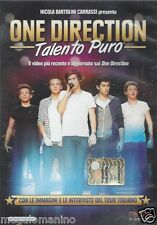 Dvd **ONE DIRECTION ♥ TALENTO PURO** nuovo