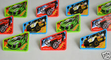 12 Hot Wheels Car Cup Cake Rings Topper Party Goody Loot Bag Filler Favor Supply