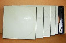 Revox Schuber , 5 Stk. für Spulen mit 26,5 cm D, Gebrauchsspuren