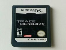 Trace Memory Nintendo DS Game Cartridge Only