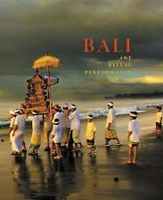 NEW! Bali: Art, Ritual, Performance by Nathase Reichle. (hardcover)