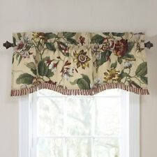 Waverly Laurel Springs Lined Window Valance,50-Inch Wide x 15-Inch Long (127 cm