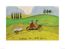 Sam Toft (Taking the Ducks Home)   PPR44491  ART PRINT 40cm x 30cm