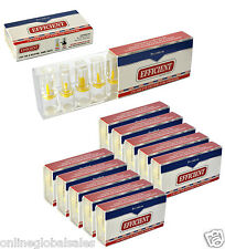 12 x Efficient Cigarette Filter Tips Mini Pack Block & Filter Out Tar and Nic